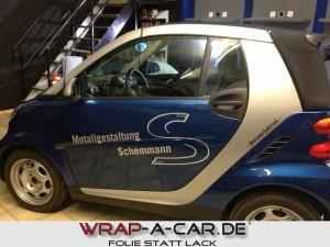 Werbebeschriftung für Firmenfahrzeuge