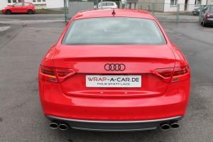 Stoßstangen Folierung Audi
