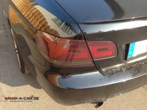 BMW Bremsleuchten Tönung in schwarz
