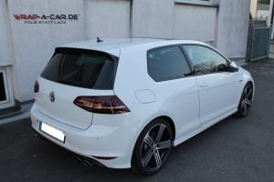 VW Golf 7 R in weiß