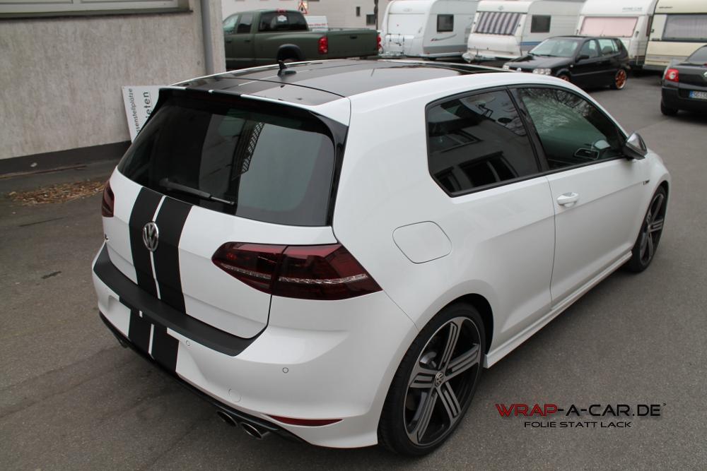 Folierung VW Golf 7 R