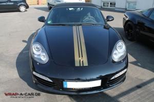 Porsche Streifen am Porsche Boxster