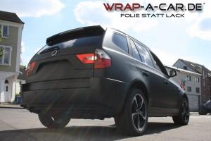 Wrap-a-car.de Folierung in schwarz-matt